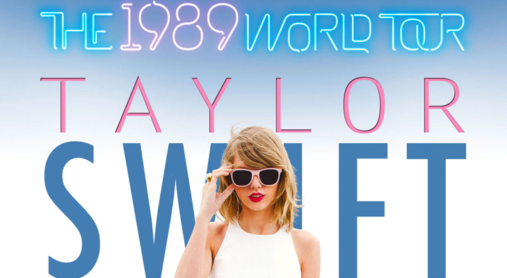 Taylor Swift, 1989 World Tour @TheRoyaleIndia
