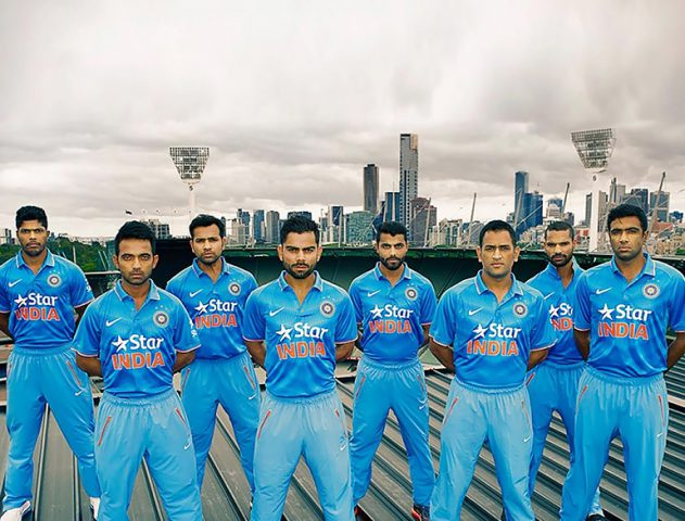 Team India's Official World Cup Jersey Unveiled @TheRoyaleIndia