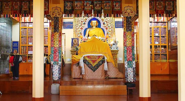 Tsuglagkhang Monastery @TheRoyaleIndia