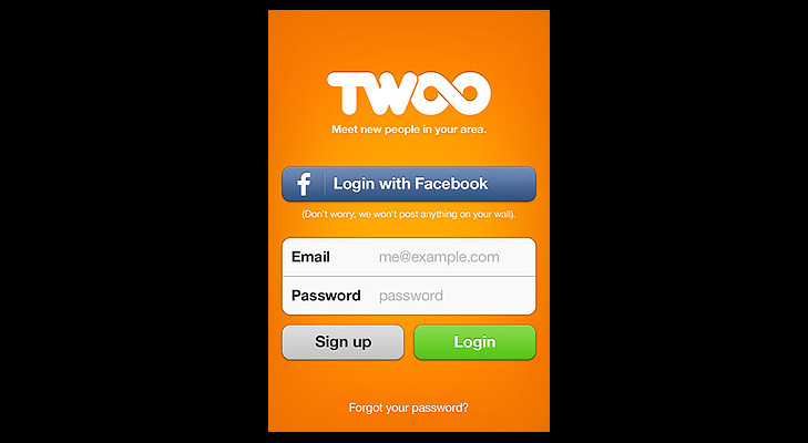 Twoo app screenshots @TheRoyaleIndia