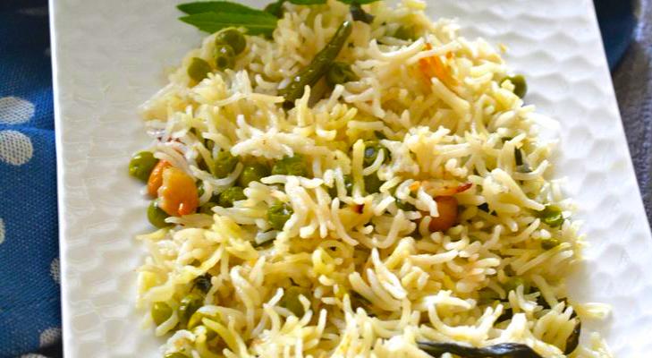 veg pulav @TheRoyaleIndia