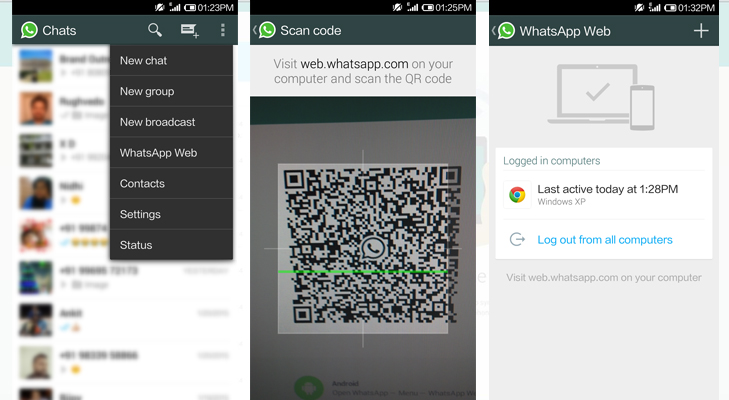 Whatsapp for Google Chrome @TheRoyaleIndia