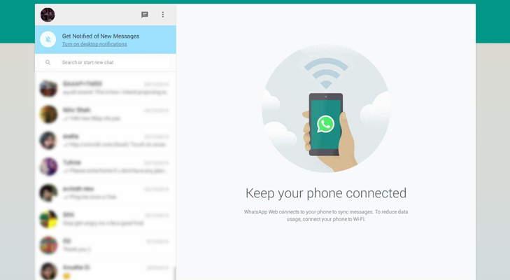 whatsapp for web browser @TheRoyaleIndia