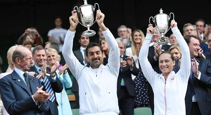 wimbledon 2014 mixed doubles winners @TheRoyaleIndia