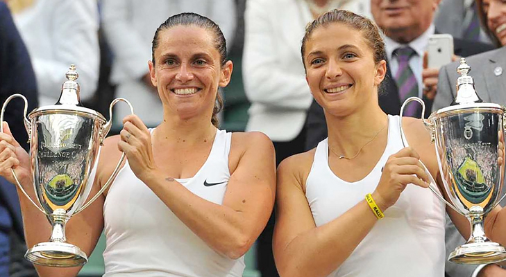 wimbledon 2014 womens doubles @TheRoyaleIndia