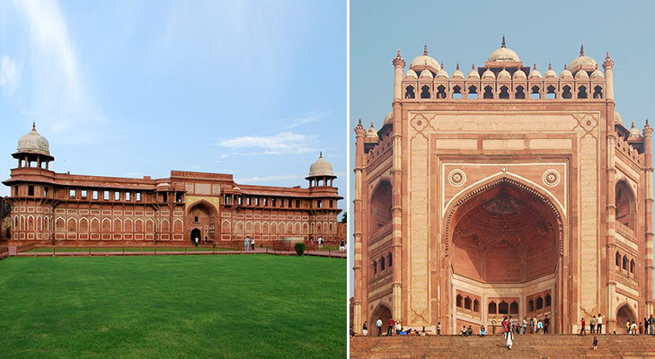 Agra fort and Fatehpur Sikri @TheRoyaleIndia
