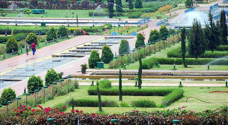 Brindavan Gardens Mysore @TheRoyaleIndia