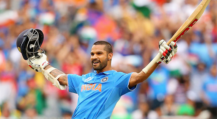 Dhawan Hundred Against South Africa 2015 @TheRoyaleIndia