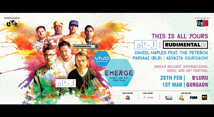 Emerge Music and Art Festival 2015 @TheRoyaleIndia