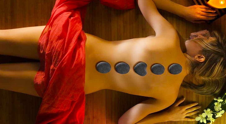 hot oil stone massage @TheRoyaleIndia