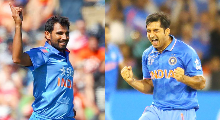 Indian bowlers world cup 2015 @TheRoyaleIndia