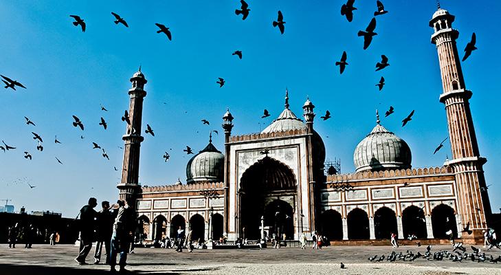 Jama Masjid Agra @TheRoyaleIndia