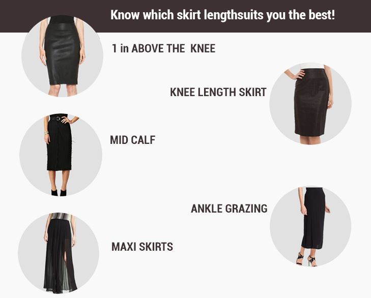 Knee Level Skirts @TheRoyaleIndia