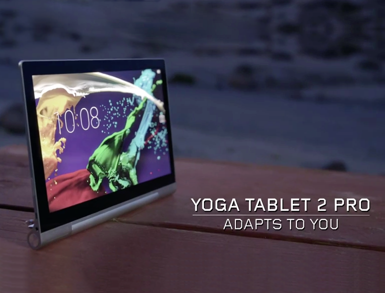 Lenovo Yoga Tablet 2 Pro With Built-In Projector Mobilizes ...