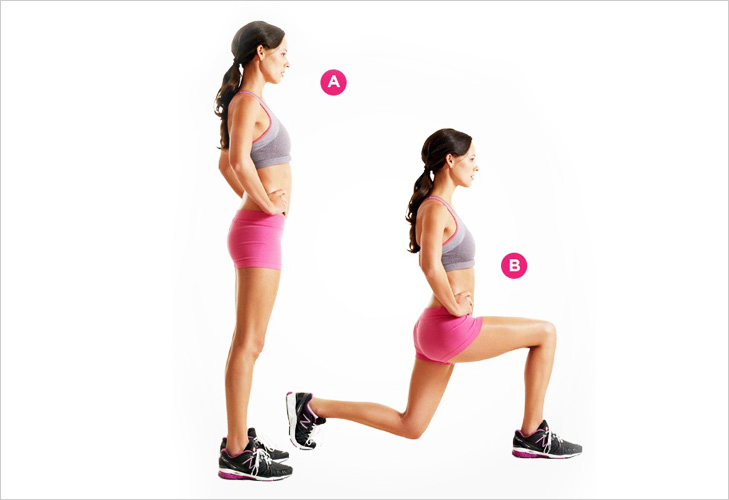 Lunges For the legs @TheRoyaleIndia