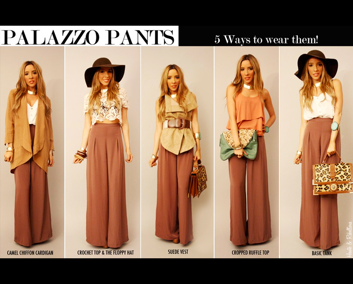 Palazzo Create your own style @TheRoyaleIndia