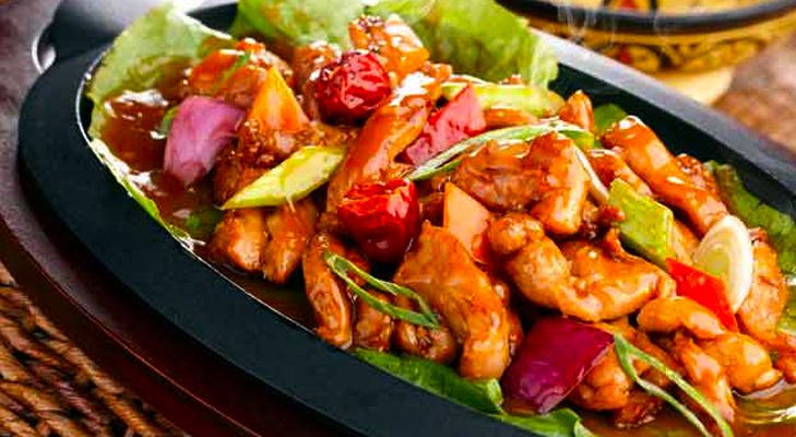 Sizzling Hot n Spicy Sizzlers! @TheRoyaleIndia