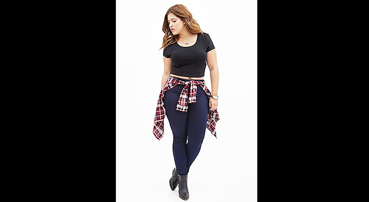 Skinny Jeans for Plus Size @TheRoyaleIndia