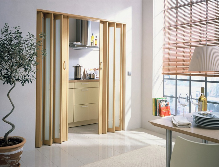 Slidding doors for small apartment @TheRoyaleIndia