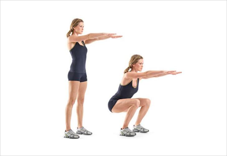 Squats Exercises @TheRoyaleIndia