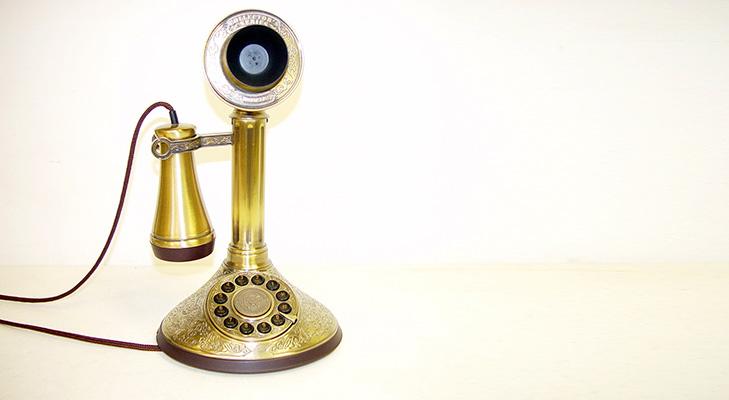Vintage Telephone @TheRoyaleIndia