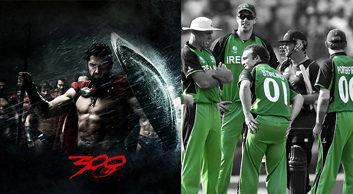 The Ireland Cricket Team @TheRoyaleIndia
