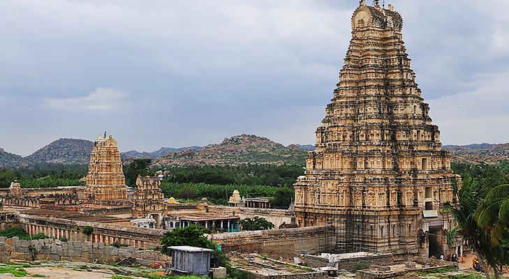 Virupaksha Temple @TheRoyaleIndia