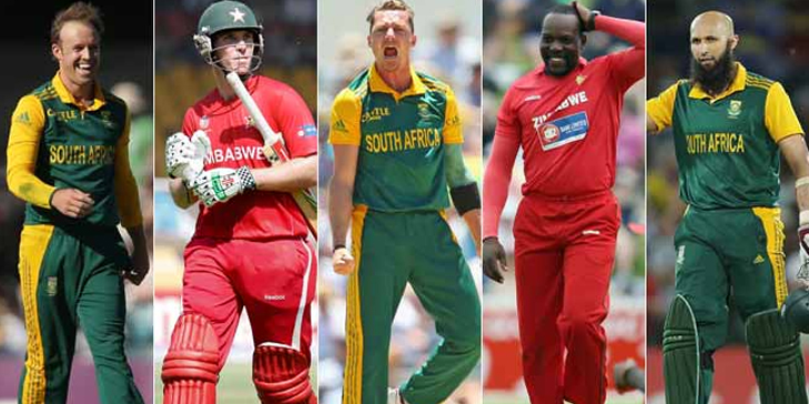 Zimbabwe Cricket Team World Cup 2015 @TheRoyaleIndia