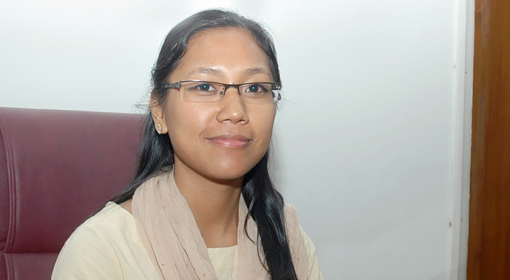 Agatha Sangma @TheRoyaleIndia