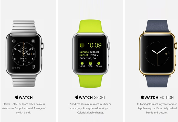 Apple Watch Models @TheRoyaleIndia
