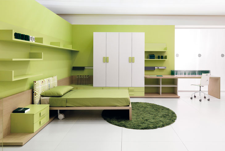 bedroom ideas green @TheRoyaleIndia