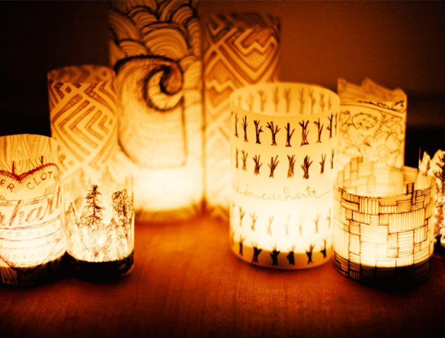 DIY Lamp Ideas @TheRoyaleIndia