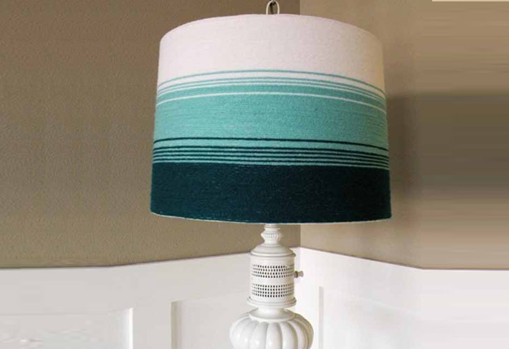 DIY Ombre Lamps @TheRoyaleIndia