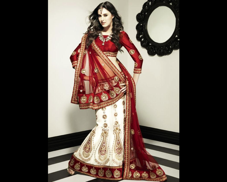 Fishcut Lehenga Choli @TheRoyaleIndia