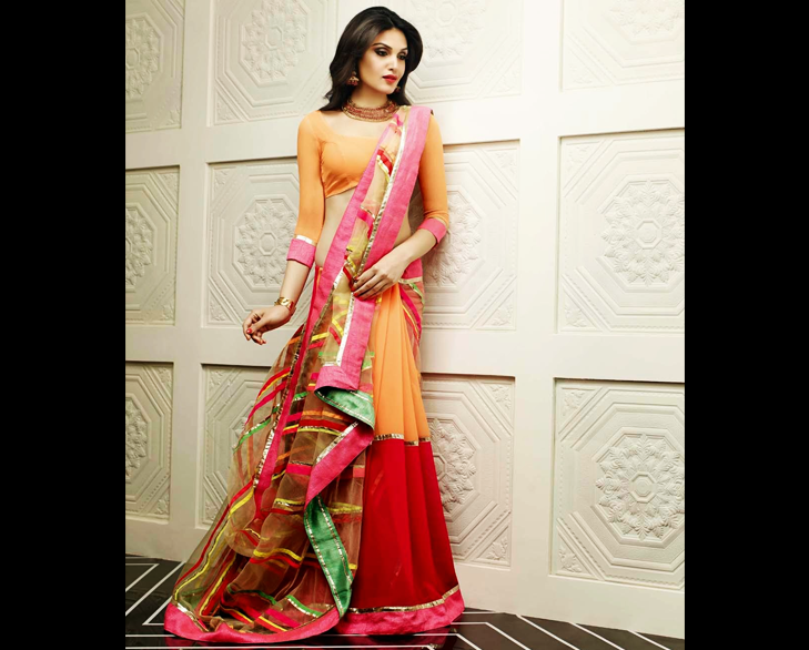 Fish Cut Saree @TheRoyaleIndia