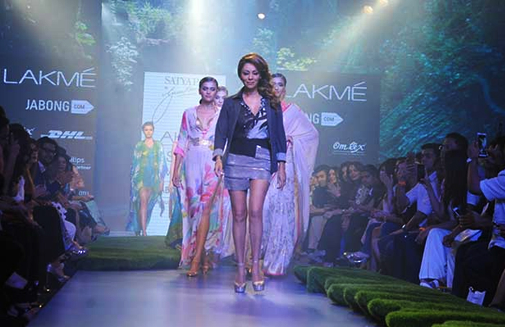 gauri khan lakme fashion week 2015 @TheRoyaleIndia