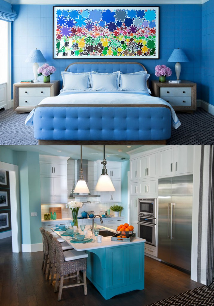 Colour your mood right with these home decor tips the royale Blue home decor