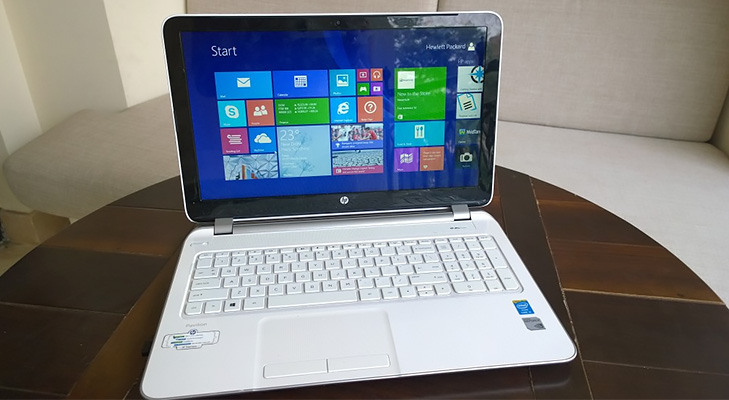 HP Pavillion 15 P077TX @TheRoyaleIndia
