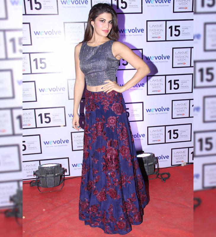 jacqueline fernandez lakme fashion week 2015 @TheRoyaleIndia