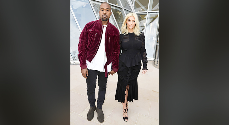Kanye West Kim Kardashian Paris Fashion Week 2015 @TheRoyaleIndia