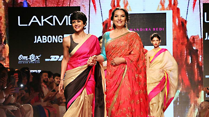 mandira bedi lakme fashion week 2015 @TheRoyaleIndia