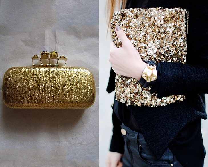 metallic clutch @TheRoyaleIndia