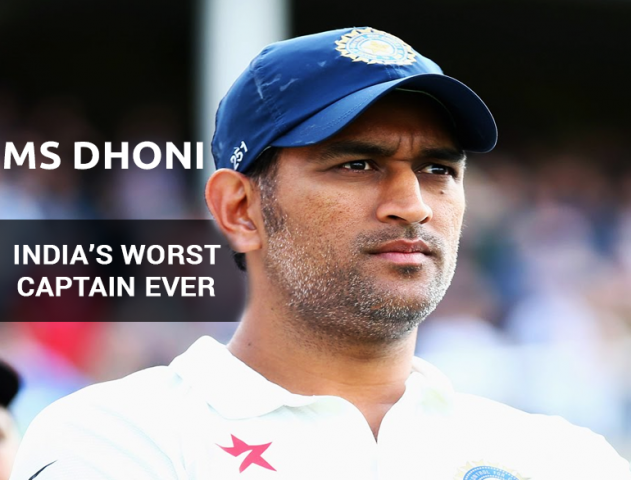 10 Reasons Why Dhoni is India's Worst Captain Ever @TheRoyaleIndia