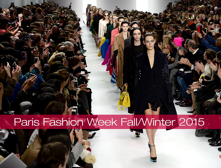 Highlights of the Paris Fashion Week Winter/Fall Collection @TheRoyaleIndia