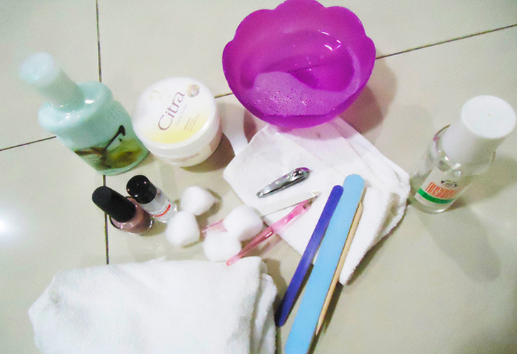 products for manicure @TheRoyaleIndia