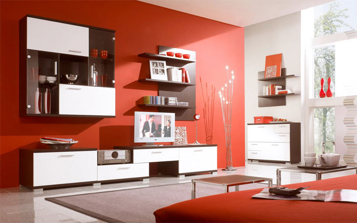 red color for apartment @TheRoyaleIndia