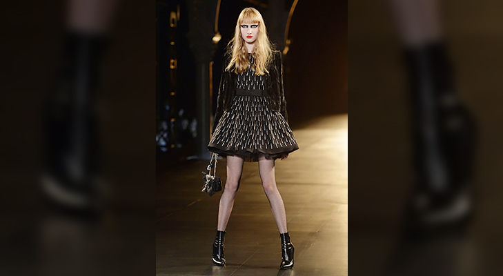 saint laurent paris fashion week 2015 @TheRoyaleIndia