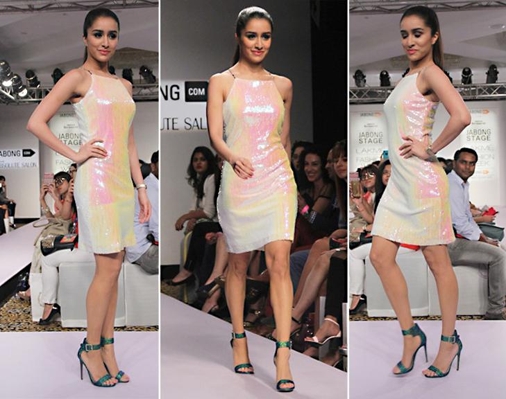 shraddha kapoor lakme fashion week 2015 @TheRoyaleIndia