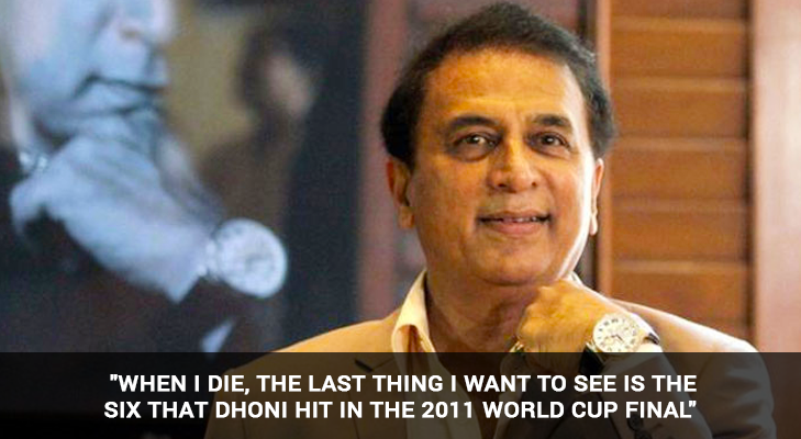 sunil gavaskar on ms dhoni @TheRoyaleIndia