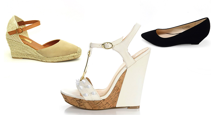 Wedge Heels for Women @TheRoyaleIndia